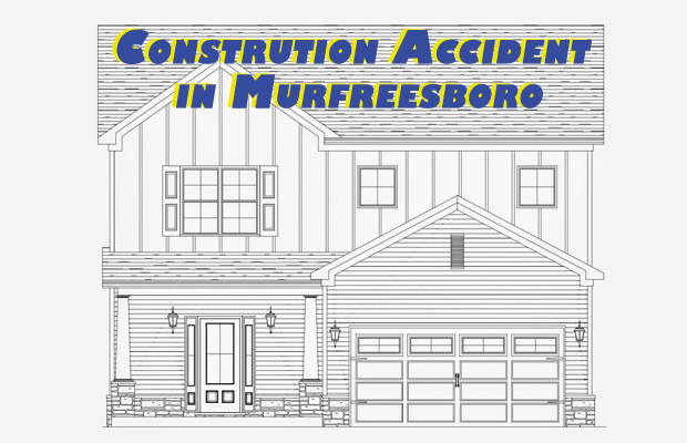 Construction worker falls off roof in Murfreesboro