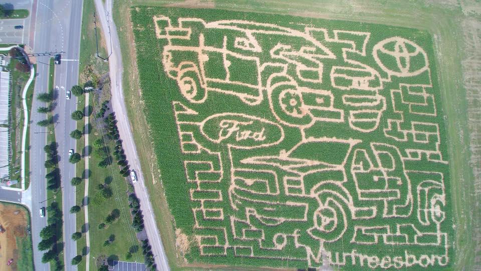 LAST CALL: Corn Maze and Fall Fest OPEN in Murfreesboro through Sunday