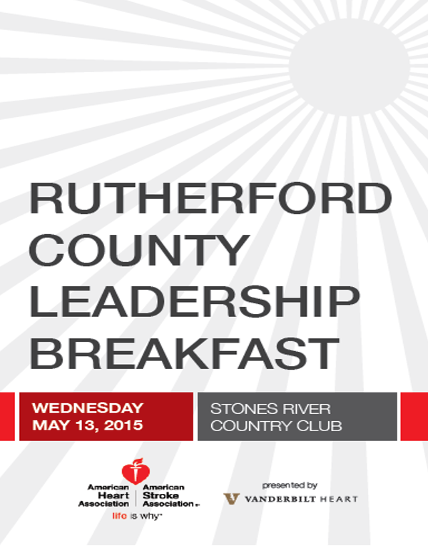American Heart Association working with local leaders in Rutherford County