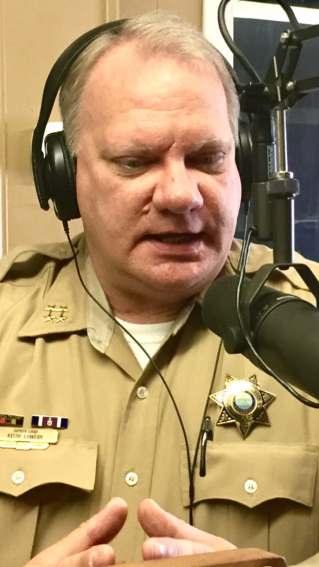 Deputy Chief at the Rutherford County Sheriff's Office working to rebuild community trust