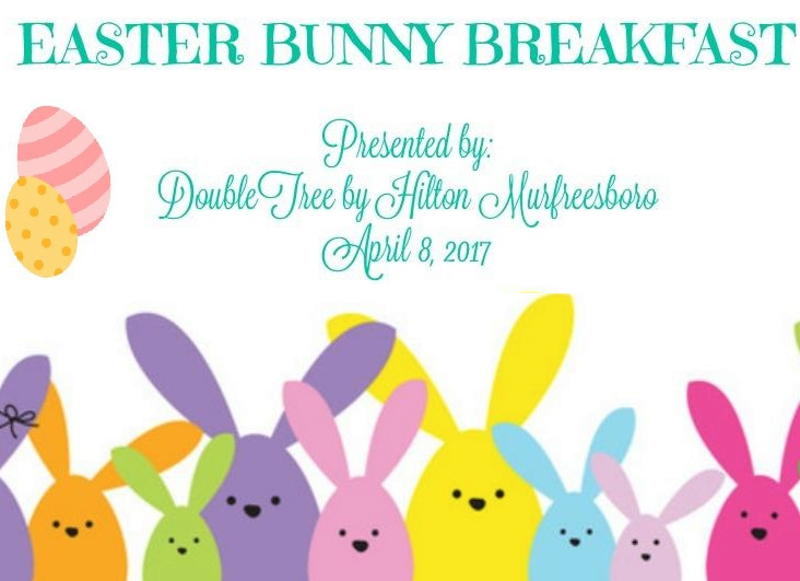 Eat Breakfast with the Easter Bunny in Murfreesboro