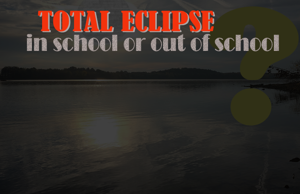 Total Eclipse = Total Excused Absence if Not Present at Rutherford County Schools