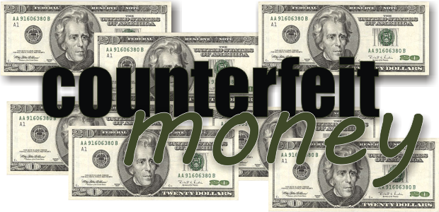 Counterfeit Money at S. Church Businesses