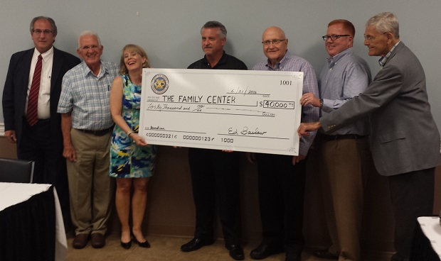 Exchange Club Family Center Receives $40,000 Boost