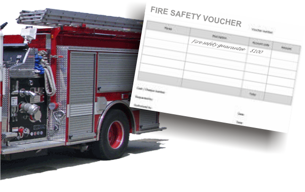 Murfreesboro business buys a fire safety voucher