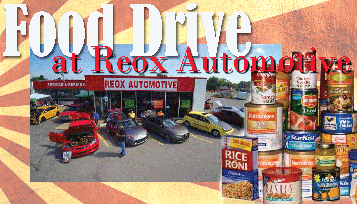 Local mechanic shop collecting food for family in need this week