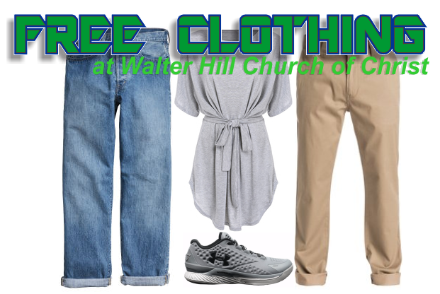 Free Clothing this Saturday in Walter Hill Community