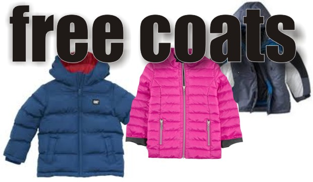 Free Coats for those in need Nov. 23rd - Saturday