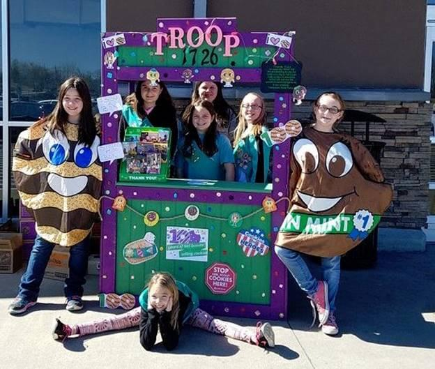 Girl Scouts of Middle Tennessee will kick off next century of female entrepreneurs with 2018 Girl Scout Cookie Season