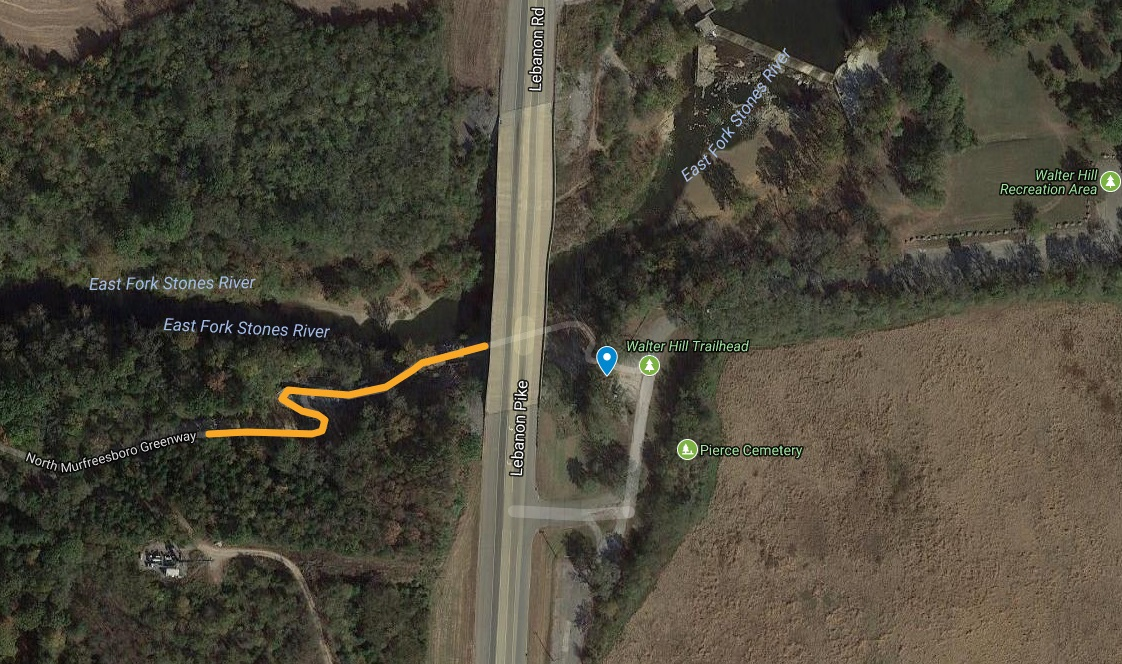 Portion of the Greenway Trail shut down for 10 to 14 days