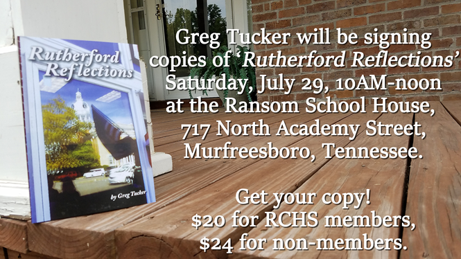 'Rutherford Reflections' is THIS Saturday in Murfreesboro