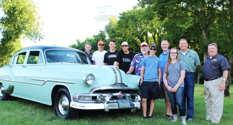 Central Magnet students to restore car