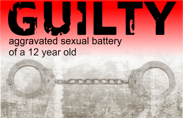 47 Year old Murfreesboro man found Guilty of aggravated sexual battery with 12 year old
