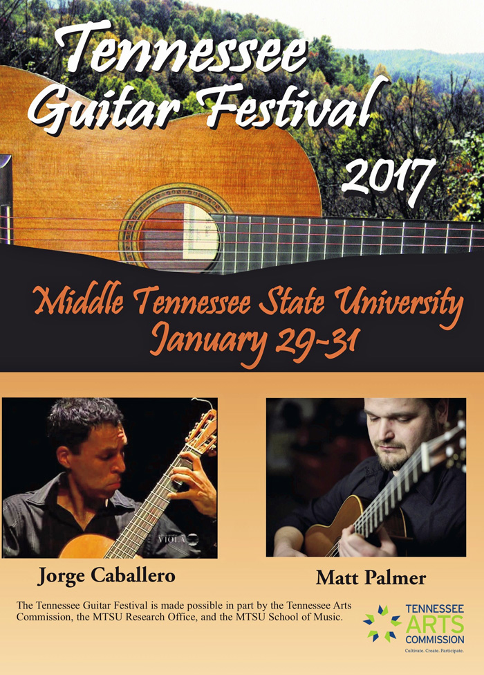 16th annual Tennessee Guitar Festival set Jan. 29-31 at MTSU includes acclaimed alumnus