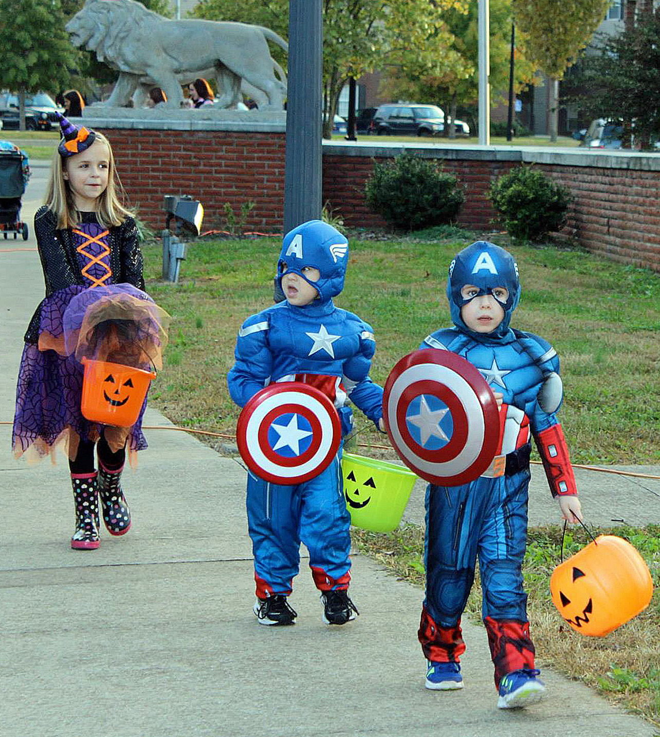 Trick or Treat on Greek Row at MTSU Tuesday