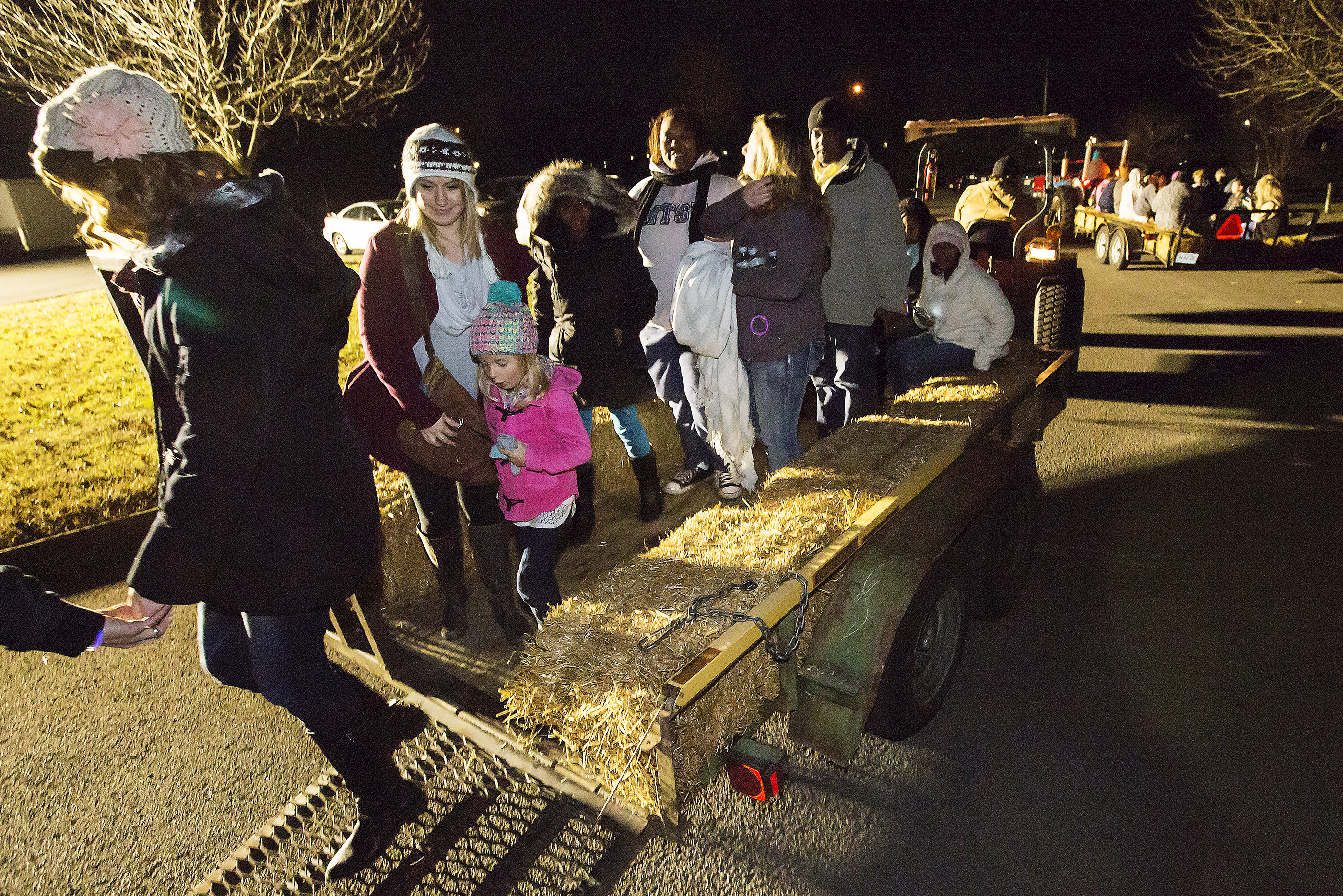 Murfreesboro Parks and Rec. Dept. recently held their 17th annual Fall Harvest Hayride