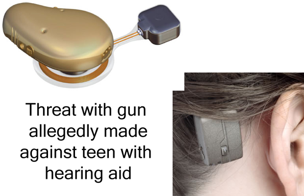 Teen with hearing aid called a