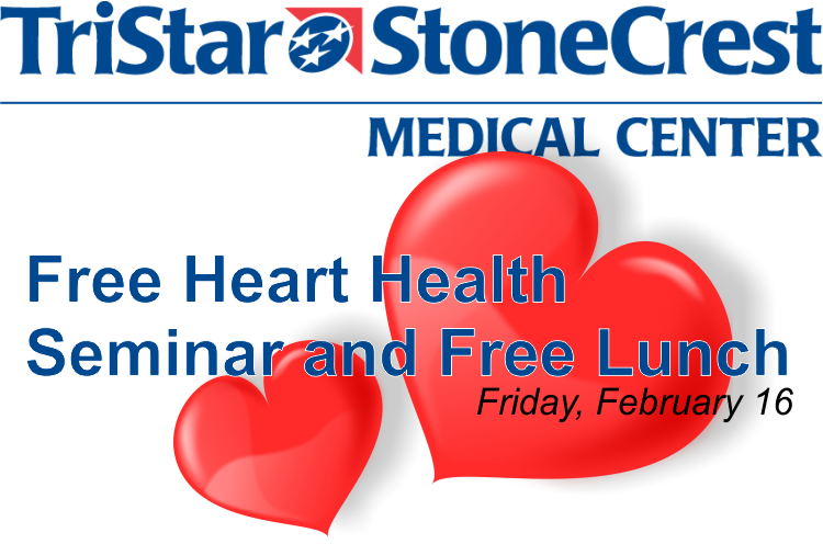 Free Lunch with Free Heart Health Seminar at StoneCrest in Smyrna
