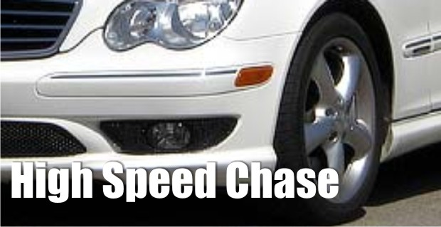 Man in a Mercedes outruns Cannon and Rutherford County Deputies for a short time, then caught | chase,pursuit,Cannon County,Rutherford County,Murfreesboro news