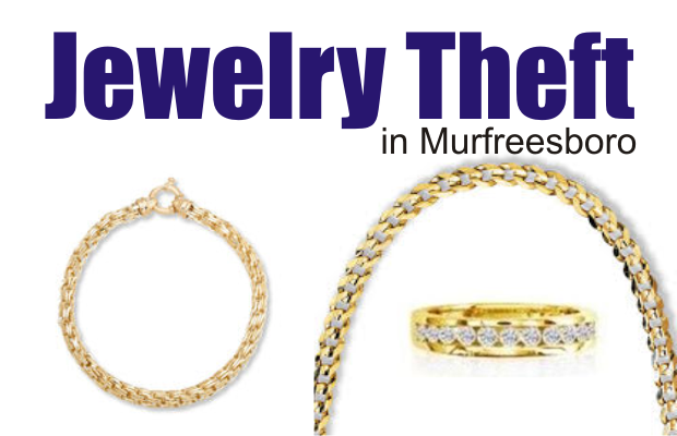 Theft at a Murfreesboro Jewelry Store