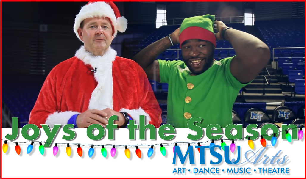 MTSU unwraps 'Joys of the Season' arts gifts to community Dec. 3 in Tucker Theatre