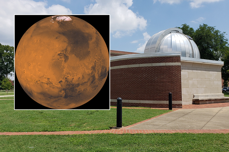 Get rare close-up look at 'the red planet' Friday during special Star Party at MTSU