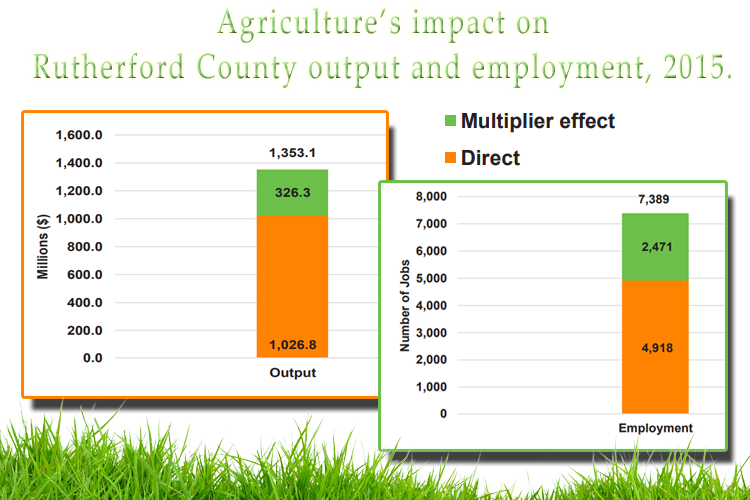 UT Institute of Agriculture Reveals Economic Contributions of Agriculture Per County