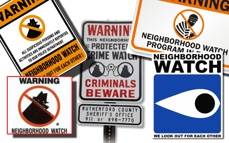 Local Neighborhood Watch Programs Positive Tool in Fighting Crime