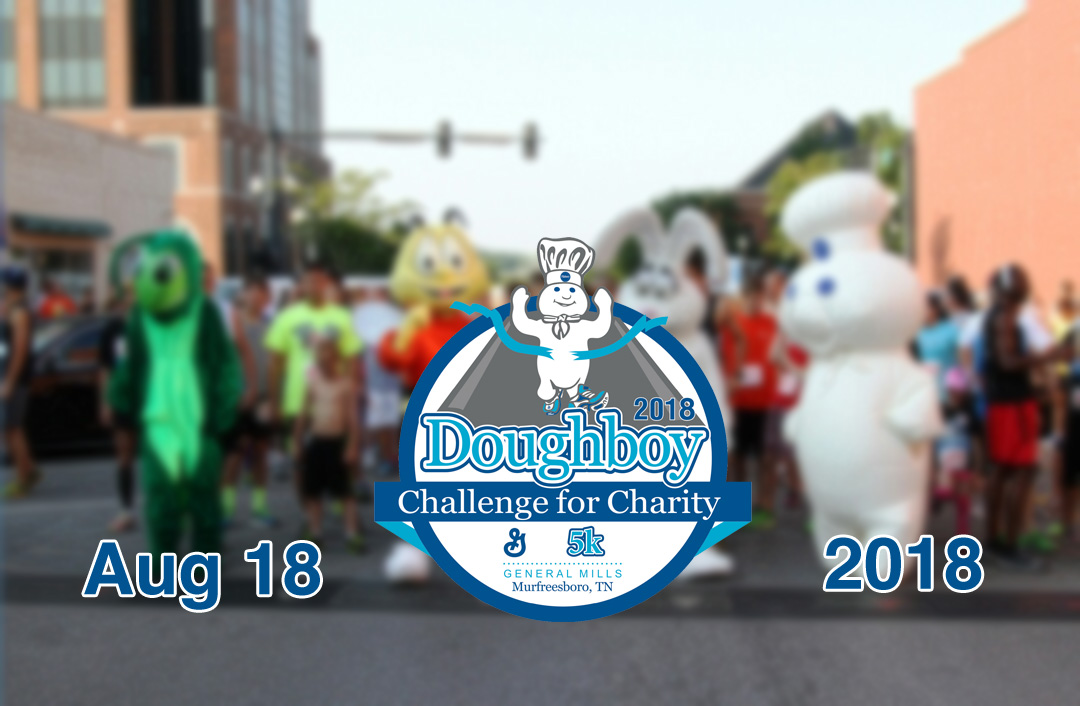 Annual Doughboy Challenge in Murfreesboro to be held on August 18th