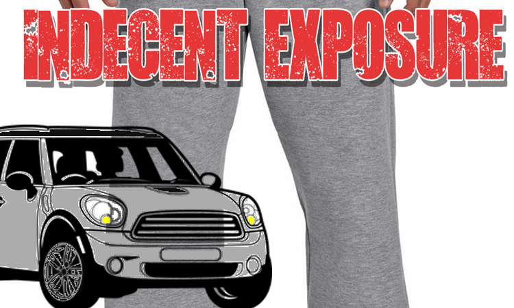 Indecent Exposure South Church / Veterans Pkwy Parking Lot