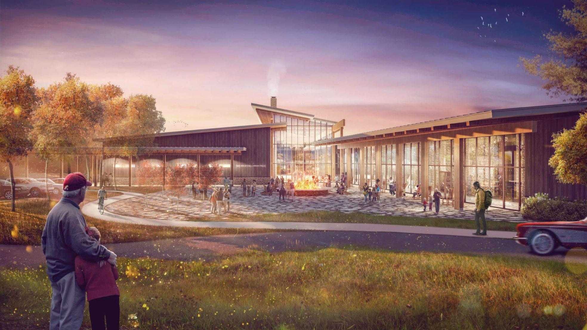 UPDATE: Groundbreaking for New Fall Creek Falls State Park Inn