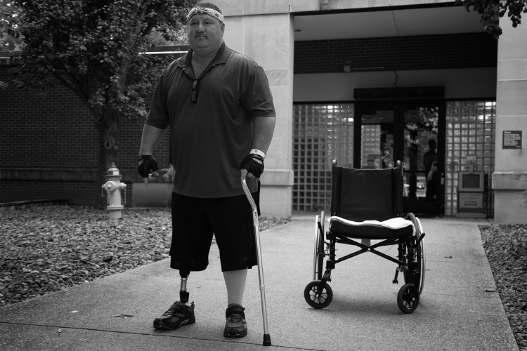 Jimmy Jones was wheelchair bound for years, but Tuesday - He walked out of the Murfreesboro VA Hospital on his own