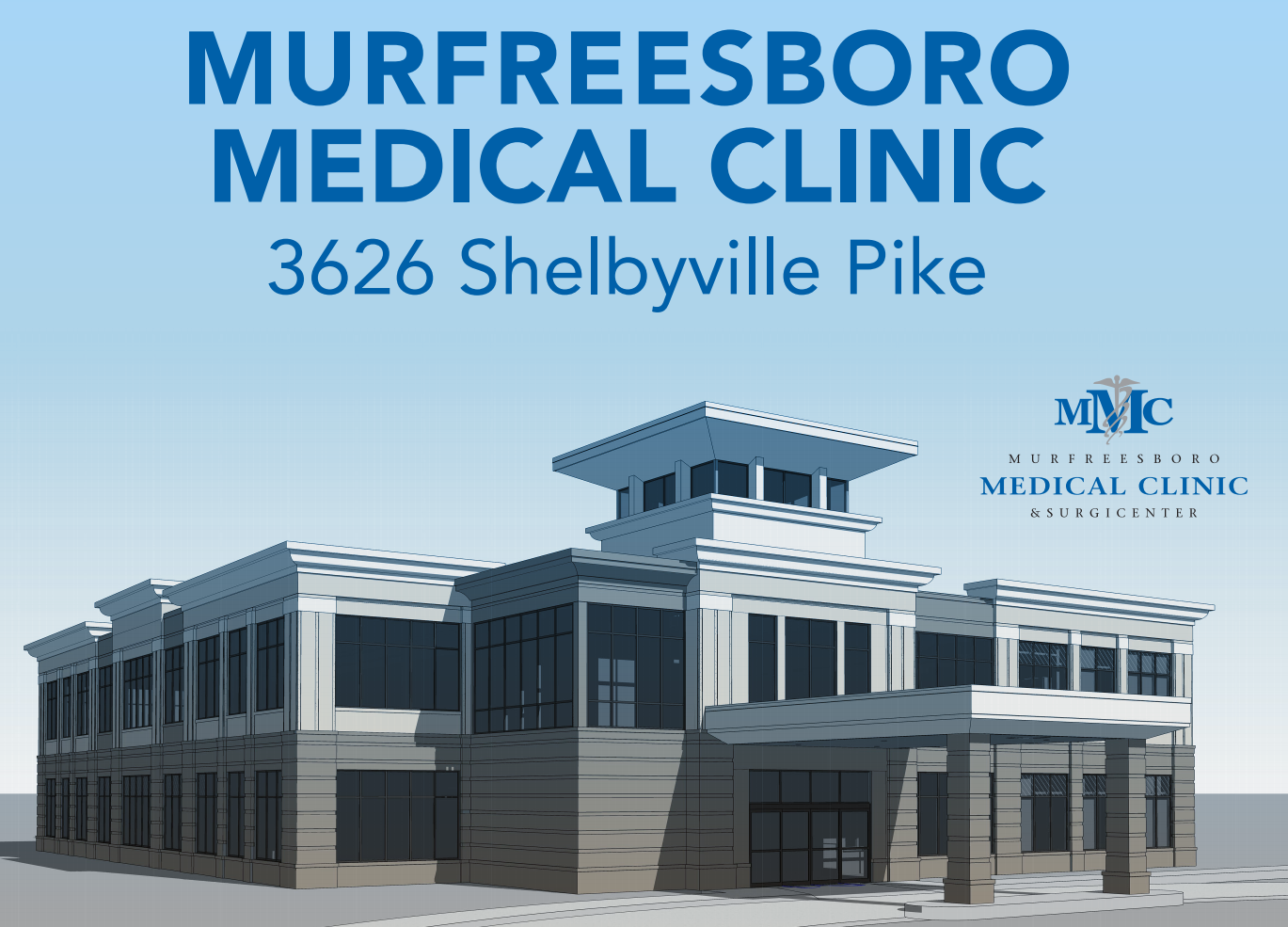 Groundbreaking for NEW Murfreesboro Medical Clinic Offices