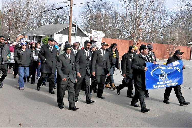 Annual Martin Luther King, Jr. March to be held in Murfreesboro 01/21/2019