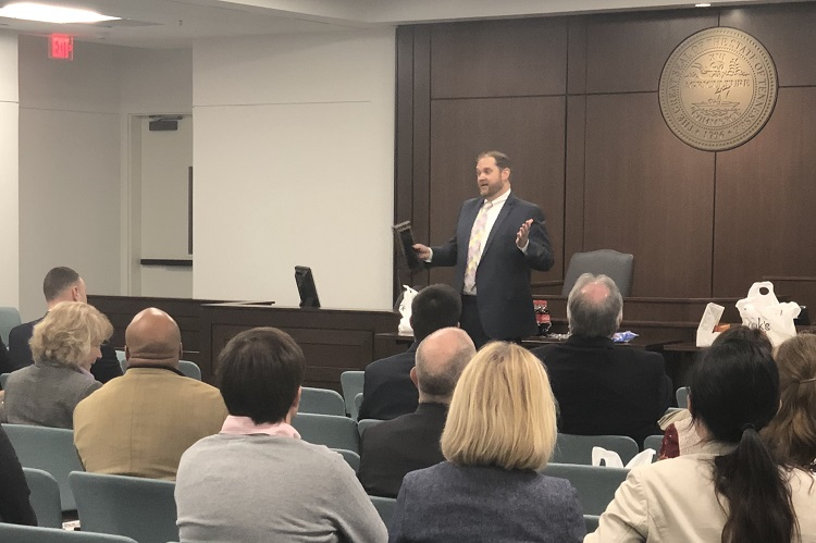 Local Bar Association Swears in New Officers