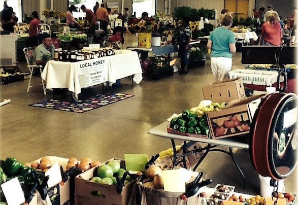 The Farmers Market this week in Murfreesboro