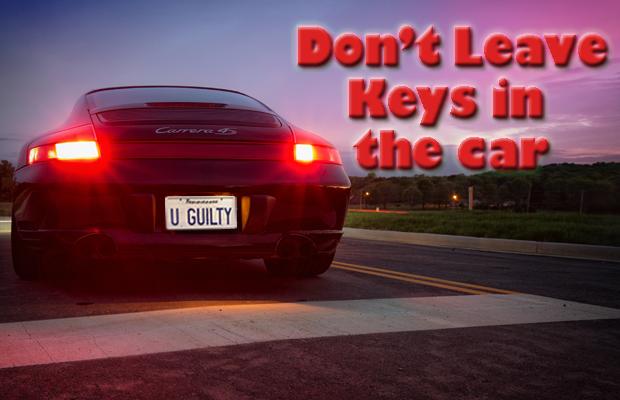 52% of Last Week's Stolen Vehicles Taken with Keys