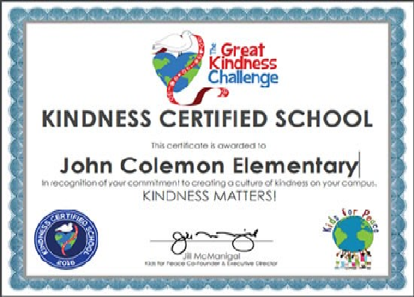 John Colemon Elem. School in Smyrna Shows Kindness by Delivering Packages to Every Student
