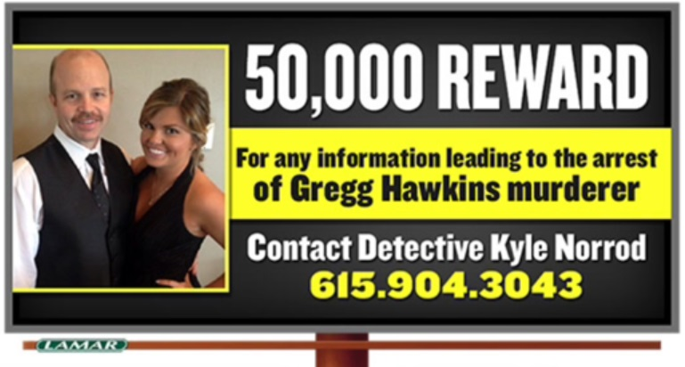 New Billboards in Rutherford County ask for Clues in Murder Case