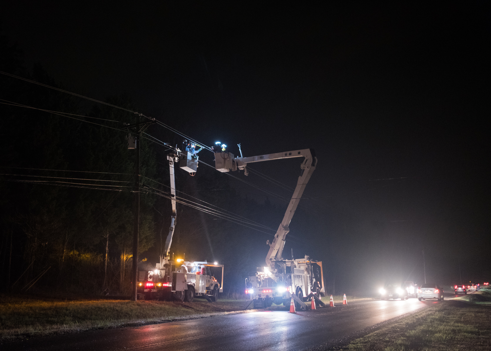 Middle TN Electric Releases Tuesday Storm Damage Report