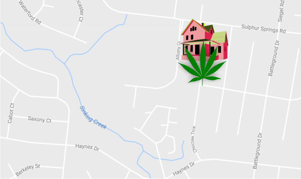 Marijuana grow operation dismantled in Murfreesboro