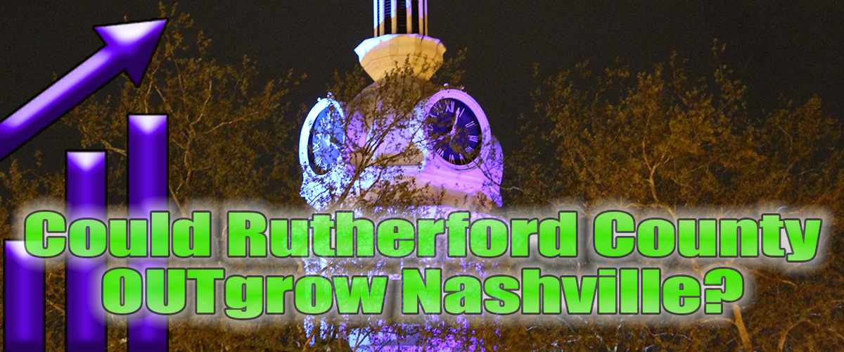 Could Rutherford County Pick Up Davidson County Growth?