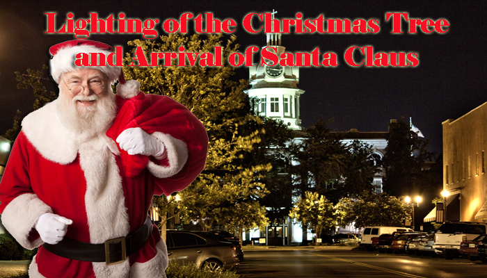 Santa Claus to arrive on Murfreesboro Square this Friday at 6PM