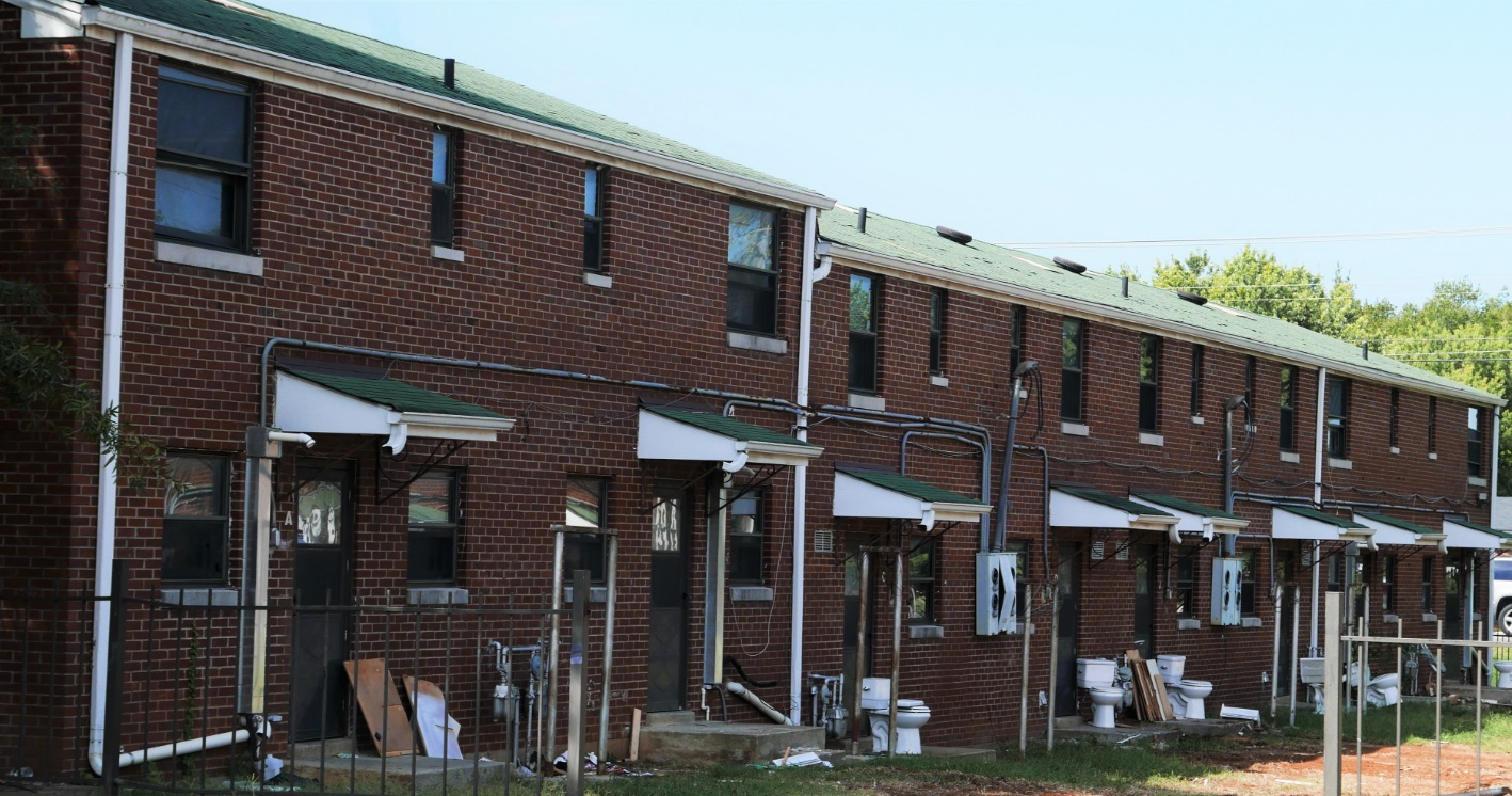 Old housing complex in Murfreesboro is being transformed into a training ground now