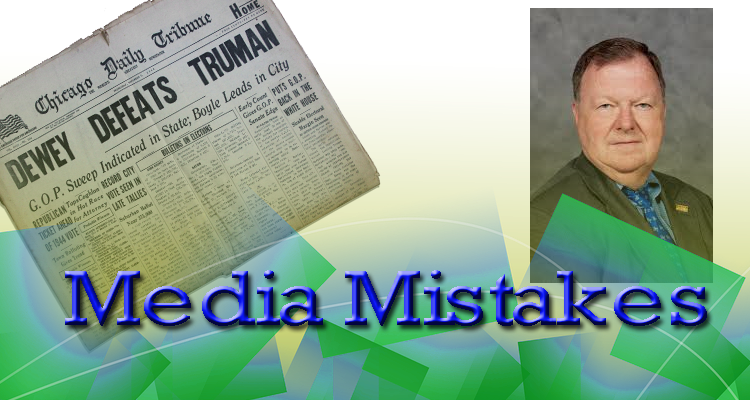 MTSU Journalism Professor looks at mistakes in the media  | media,mistakes,Larry Burriss,MTSU