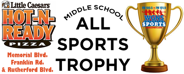 '17-'18 Middle School All Sports Trophies Presented