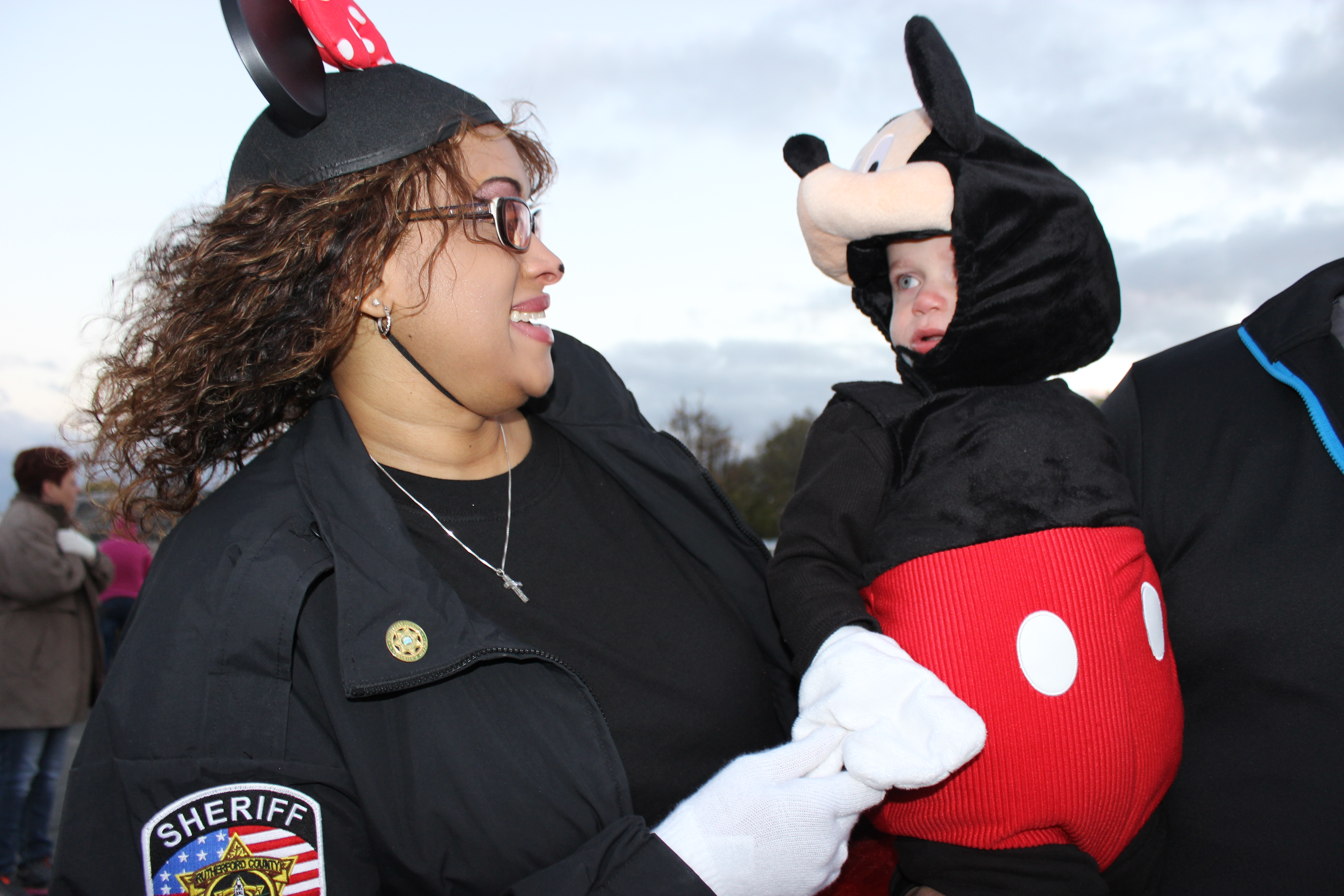 Trick or Treating at the Rutherford County Sheriff's Office