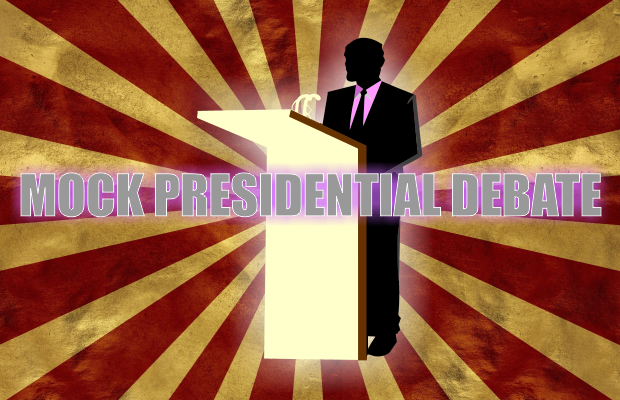 Mock Presidential Debate on Thursday at MTSU