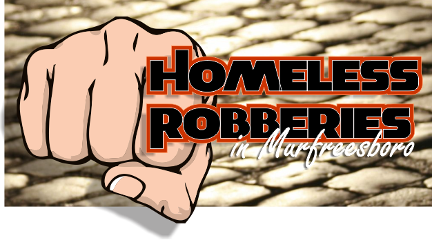 Who is targeting homeless in local robberies?