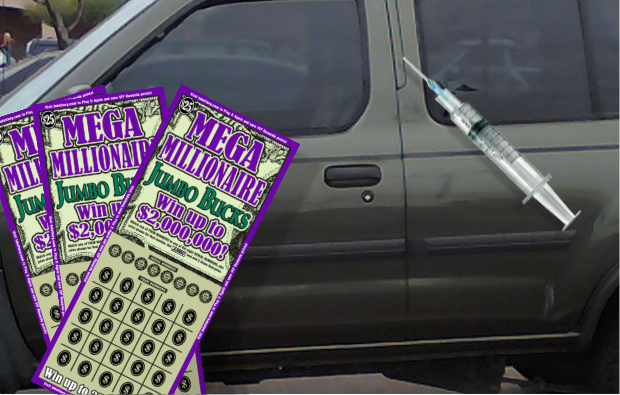 Heroin and Lottery Ticket's lead to two arrests in Murfreesboro